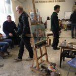 Masterclass Niels Smits van Burgst, model Carel