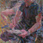 Niels Smits van Burgst, 2015, 'The Painter and his Model', 100 x 70 cm