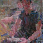 Niels Smits van Burgst, (detail) 2015, 'The Painter and his Model', 100 x 70 cm