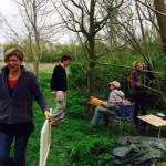 In de tuin van De Foudgumse School