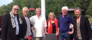 Docent Peter B. van Houten. Gastdocenten: John Verberk, Peter Leen, (Dinie Goedhart), Ben Rikken, Sam Drukker.