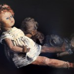 """Marjan de Jonge, """"Wooden's wish"""", 50 x70 cm, olieverf, 2016"""