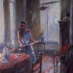 Marcel Duran, 'Lezend',