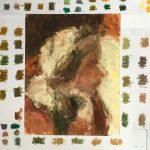 Bouwine Slager, kleurstudie