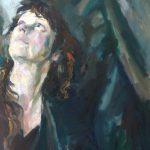 Marjan Raven, Zelfportret III, 50 x 60, olieverf, 2016