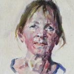 Jia Bei Le, Miniportret, 7 x 5, 2016