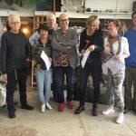 John Verberk, Jia Bei Le, Cees Booij, Peter B. van Houten, Liesbeth Veenhof, Yvonne Prinsen, Niels Smits van Burgst, foto: Dinie Goedhart