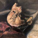 Marjan deJonge, 'Overdose playtime', olieverf op doek, 40 x 50, 2017