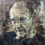 Peter B. v. Houten, Portret Kiefer, olieverf, 60x40, 2017