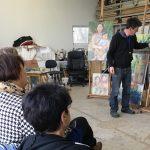 Werkbespreking masterclass Niels Smits van Burgst