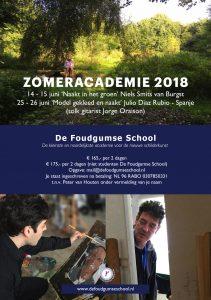 Zomeracademie De Foudgumse School met Niels Smits van Burgst (Rotterdam), Julio Diaz Rubio (Spanje) en Jorge Oraison