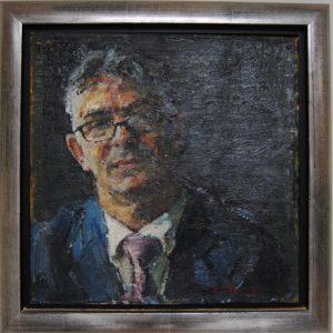Peter B. van Houten, Portret Johan vd Berg, olieverf, ongeveer 20 jaar geleden
