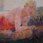 Niels Smits van Burgst, 2016, 'Miro on the couch' 70 x 120 cm