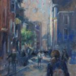 Marcel Duran, 'Door de stad',