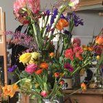 Masterclass 'Bloemen schilderen' door Margreet Boonstra, 11-02-17