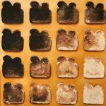 "Marjan de Jonge, 2017, ""New toaster"", olieverf op doek, 80x80 cm"