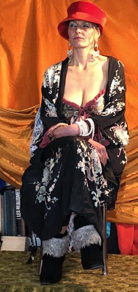 Masterclass Dinie Boogaart, 6-4-2018, model Trieneke