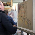 Jaap Veenhouwer. Masterclass Schilderen met pastel door Dinie Boogaart
