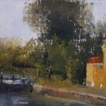 Arjen van der Schaaf, zonder titel, 6 x 11, olieverf, 2018