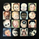 "Marjan de Jonge, ""Poppenkoppenproject"", olieverf op doek, 100 x 100 (16 keer 20 x 20), 2018"