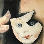 Marjan de Jonge, 'In het land der blinden', 50 x 60, olieverf op doek, 2018