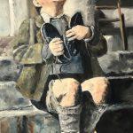 Marjan de Jonge, 'Nieuwe-schoenen', 60 x 80, olieverf op doek, 2018
