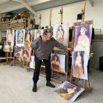 Extra Masterclass 03-11-18 'schilderen met pastel' door Dinie Boogaart