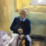 Lucy Vreeswijk , 'Adriaan', 2019, olieverf op paneel 30x40