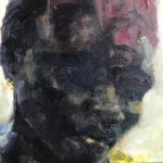 Nynke Landman, 19 x 20, olieverf op MDF, 2019/2020