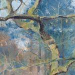 Bernardien Roze, 'Afgestorven den', 80 x 60, olieverf, 2020