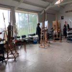 9 juni 2020 Zomeracademie De Foudgumse School masterclass vrij werk door Niels Smits van Burgst
