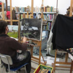 Masterclass 'zilver schilderen' door Cees Booij
