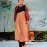 01. Monique van de Wal, 80 x 100, olieverf op linnen, 2021