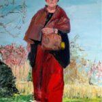 02. Monique van de Wal, 80 x 100, olieverf op linnen, 2021
