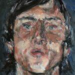 Nynke Landman, olieverf, 19 x 20, 2020