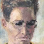Nynke Landman, olieverf, 24 x 30, 2020