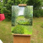 Landschapschilderen onder leiding van Cees Booij