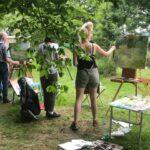 Zomeracademie 2021 in de tuin van De Foudgumse School